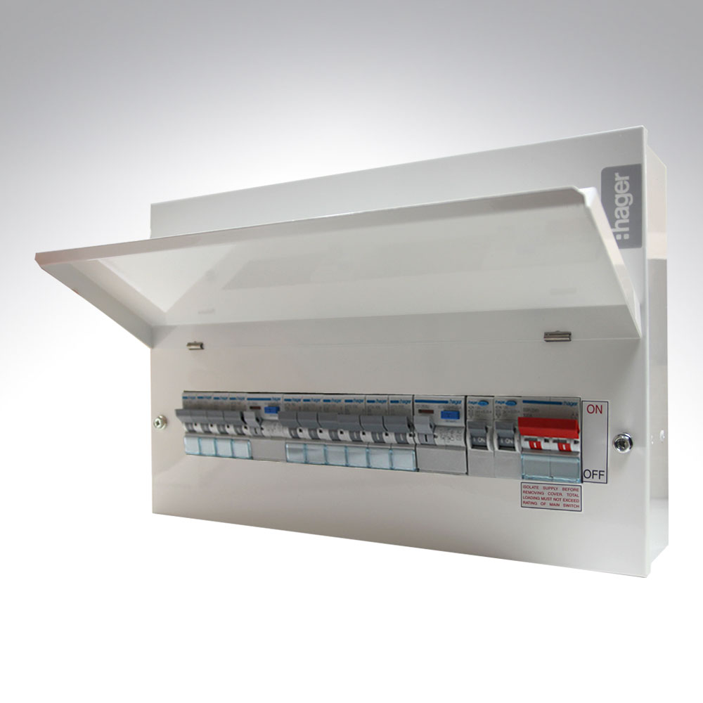 hager amendment 3 consumer units consumer units from hager, wylex, chint, bg & crabtree hager fuse box at creativeand.co