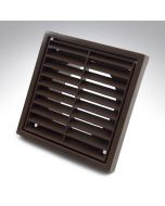 4 Inch Fixed Grille Brown