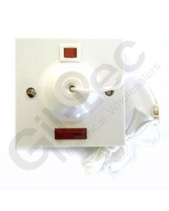 MK Ceiling Switch 1 Way 50A Double Pole + Neon
