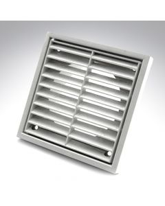 4 Inch Fixed Grille White