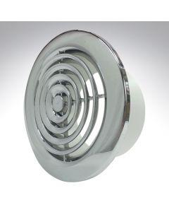 Internal Circular Grille 4 Inch 2100C Chrome