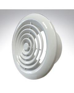 Internal Circular Grille 4 Inch 2100W White