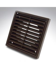 5 Inch Fixed Grille Brown