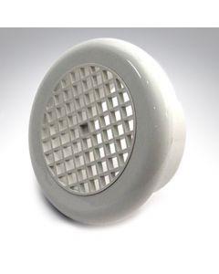 Internal Circular Grille 6 Inch 2150W White