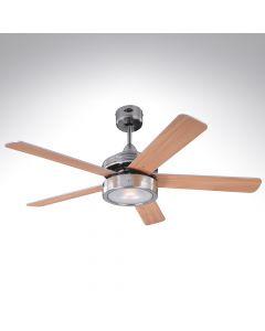 5 Blade Ceiling Fan 78545 Hercules Brushed Nickel