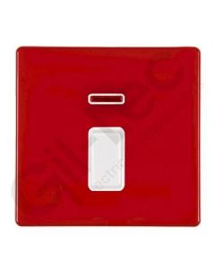 Hartland CFX Red 20a Double Pole Switch + Neon