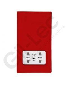 Hartland CFX Red Shaver Socket Dual Voltage