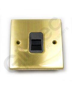 Polished Brass Telephone Master Socket
