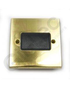 Polished Brass Switch Three Pole Fan Isolator