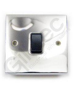 Polished Chrome Switch 20A DP 1 Gang