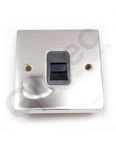 Polished Chrome Telephone Master Socket
