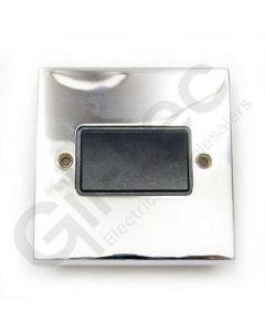 Polished Chrome Switch Three Pole Fan Isolator