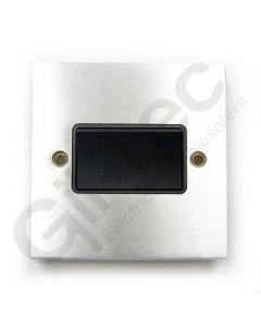 Brushed Chrome Switch Three Pole Fan Isolator
