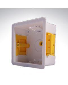 Plasterboard Socket Box 1 Gang 47mm