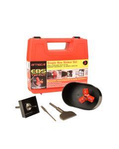 Armeg Electrical Box Sinker Tri-Cut Single Set