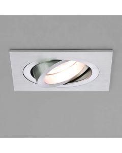 Astro 1240012 Taro Square Adjustable Recessed Spot Light Brushed Aluminium