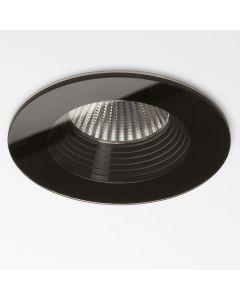 Astro 1254010 Vetro Round Fire Rated Recessed Spot Light Black