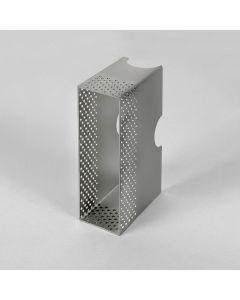 Astro 6013001 Wall Box - Borgo 55 Bright Zinc Plated