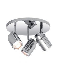 Astro 1282002 Como Triple Round Polished Chrome