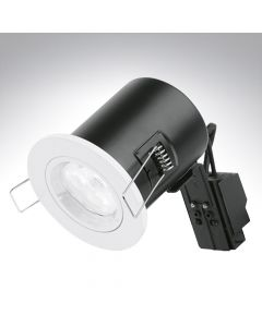 Enlite Fixed Fire Rated Downlight White