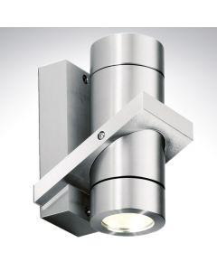 Aluminium 240v Up/Down Wall Light