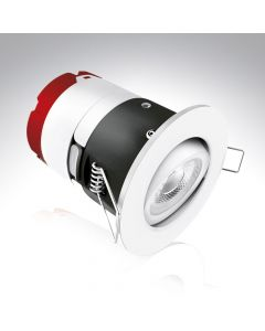 Aurora MPro2 7w IP65 Tiltable Dimmable LED Downlight Warm White