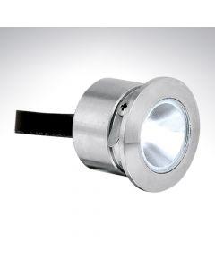 Mini Round LED Marker Light IP68 White