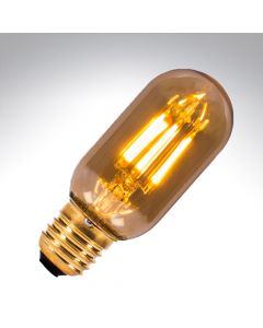 BELL 4W LED Vintage Tubular Lamp Dimmable - ES, Amber, 2000K