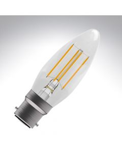 BELL 4W LED Filament Candle Bulb - BC, Clear, 2700K