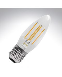 BELL 4W LED Filament Candle Bulb - ES, Clear, 2700K