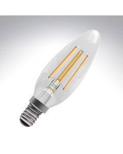 BELL 4W LED Filament Candle Bulb - SES, Clear, 2700K