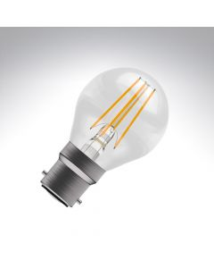 BELL 4W LED Filament Round Bulb - BC, Clear, 2700K