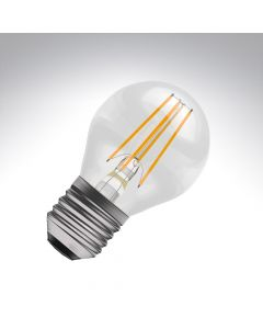 BELL 4W LED Filament Round Bulb - ES, Clear, 2700K