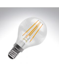BELL 4W LED Filament Round Bulb - SES, Clear, 2700K