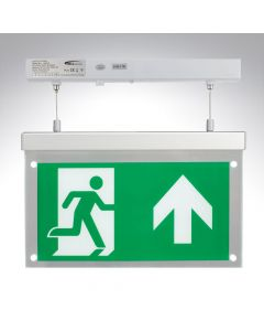 Bell Suspended Emergency LED Exit Blade