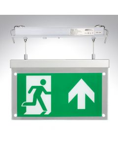 Bell Suspended Recessed Emergency LED Exit Blade