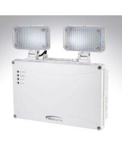 Bell 5W IP65 Twin Spot Emergency LED Wall Light