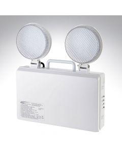 Bell 5W Twin Spot Emergency LED Wall Light