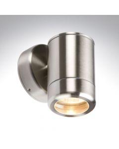 BELL 10336 Luna GU10 Stainless Steel Wall Light