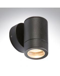 BELL 10337 Luna GU10 Black Aluminium Wall Light