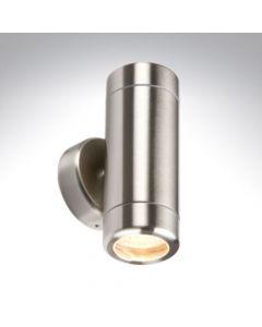 BELL 10338 Luna GU10 Stainless Steel Up/ Down Wall Light