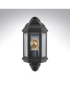 Bell 10360 Retro Half Lantern Polycarbonate Black