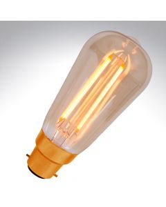 Bell 4W BC LED Dimmable Vintage Filament Squirrel Cage Lamp