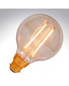 BELL 4W LED Vintage Globe Dimmable - BC, Amber, 2000K