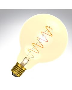 Bell 60019 4W ES LED Dimmable Vintage Soft Coil Filament 95mm Globe Lamp