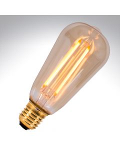 Bell 4W ES LED Dimmable Vintage Filament Squirrel Cage Lamp
