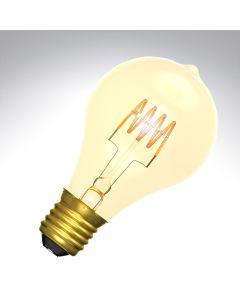 BELL 4W LED Vintage Soft Coil GLS Bulb Dimmable - ES, Amber, 2000K