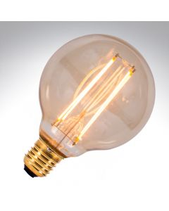 BELL 4W LED Vintage Globe Dimmable - ES, Amber, 2000K