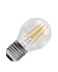 BELL 4W LED Dimmable Filament Round Bulb- ES, Clear, 2700K