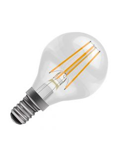 BELL 4W LED Dimmable Filament Round Bulb- SES, Clear, 2700K
